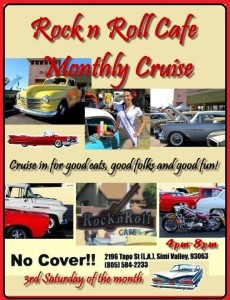 rock&roll cafe car show